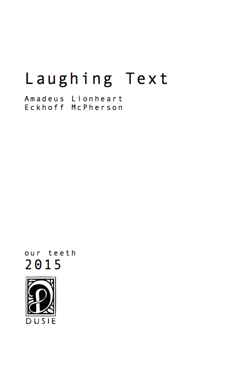 Laughing Text